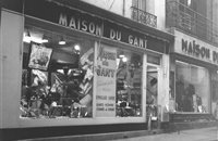 Magasin à Dieppe 1950